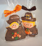 Thanksgiving Pilgrim Cookies