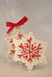 Christmas Snowflake Cookie